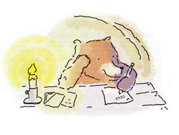 Bear Writes a Letter