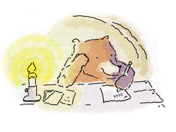 Bear Writes a Letter