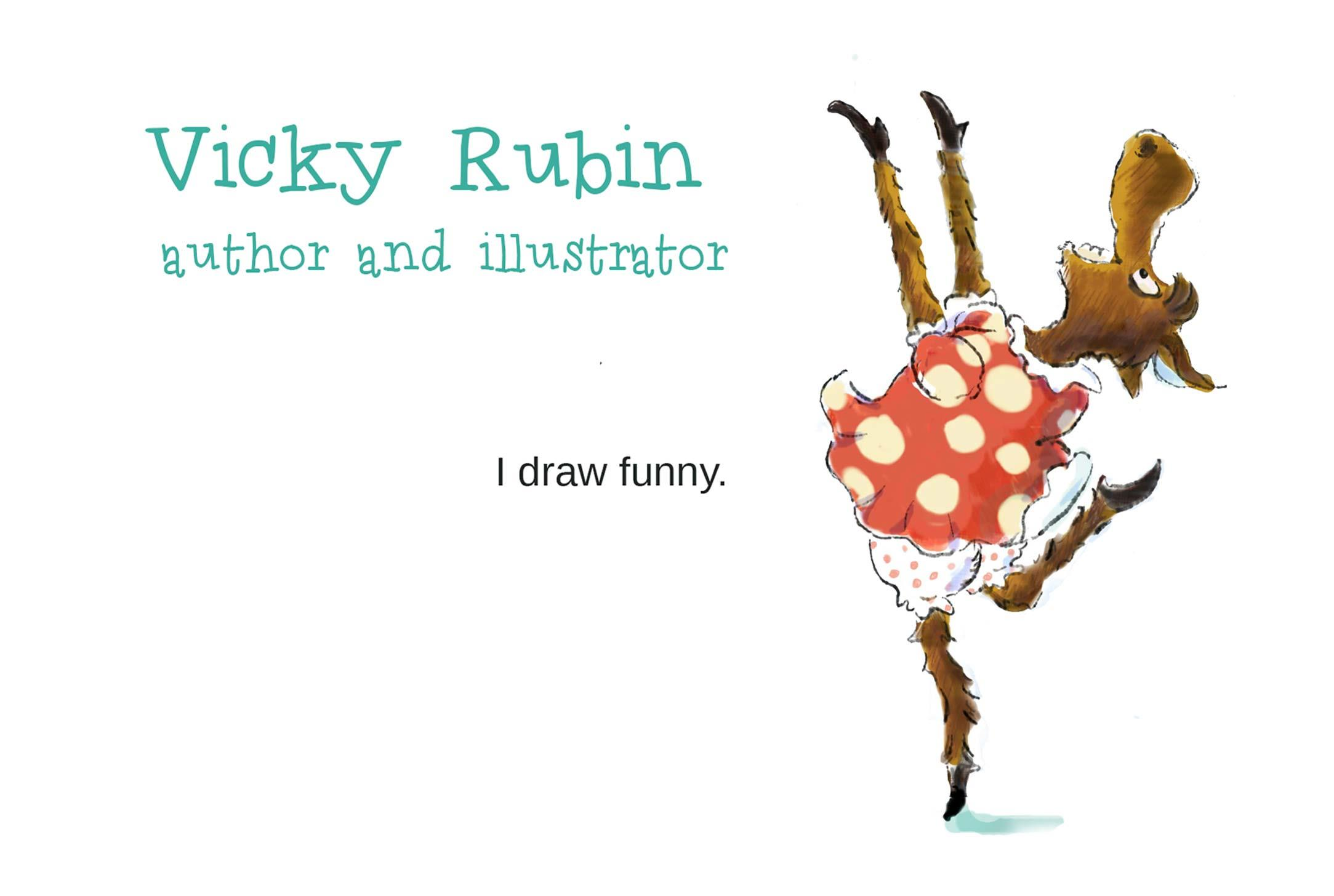 vicky rubin i draw funny